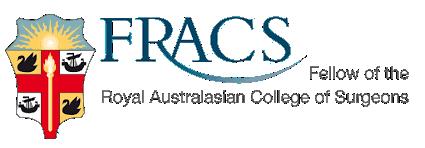 FRACS - Surgery Melbourne